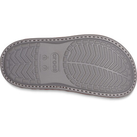 Crocs Classic Convertible Slippers burgundy/charcoal
